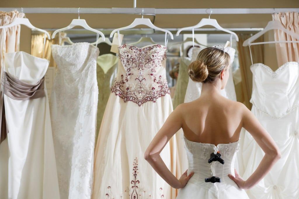 wybór sukni ślubnej