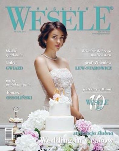 justyna kościelska magazyn wesele