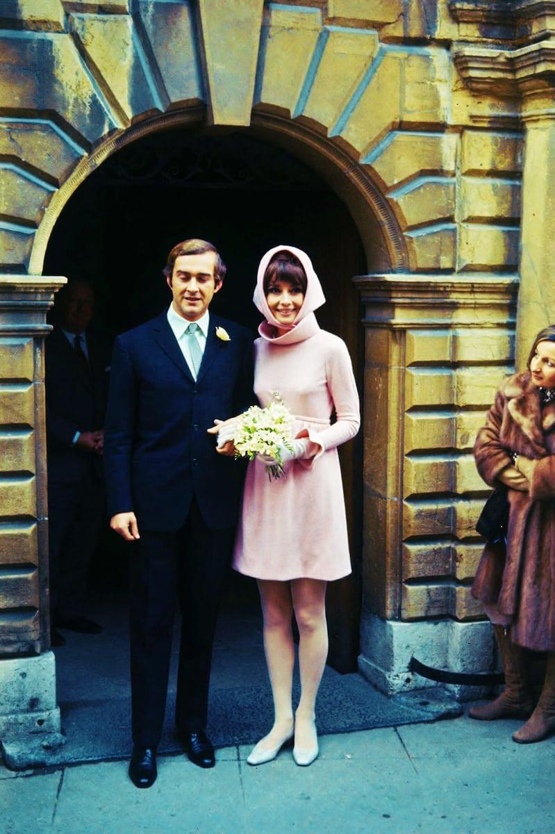 ślub Audrey Hepburn