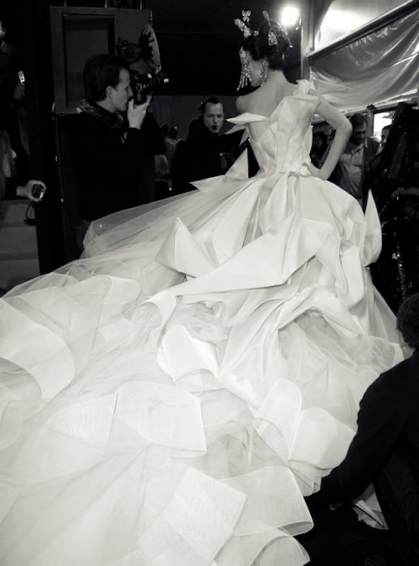 dior suknia ślubna