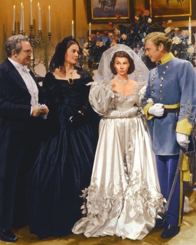 Scarlett o'hara ślub