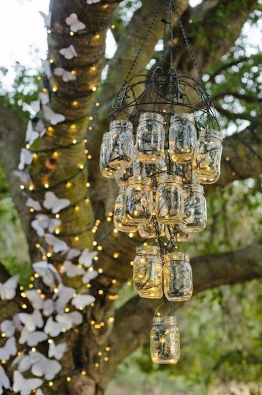 dekoracje ślubne DIY