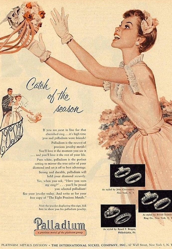pierścionki zaręczynowe retro