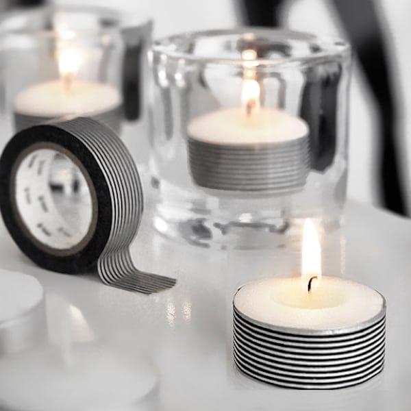 świeczki DIY