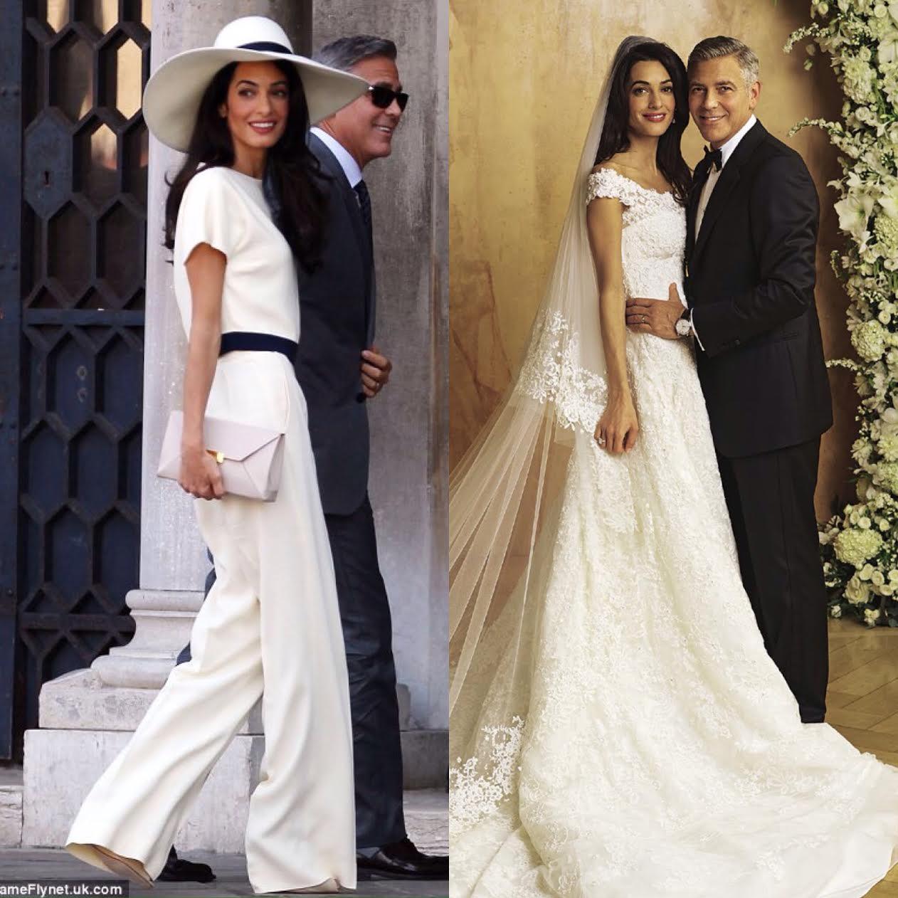dwie ceremonie, dwie sukienki