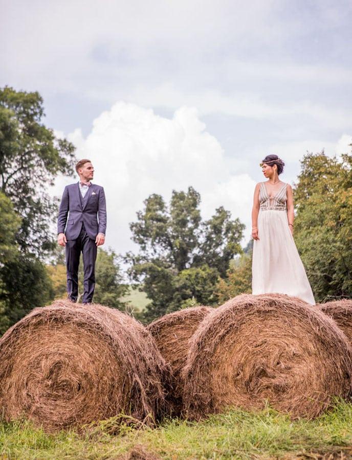 wiejski ślub