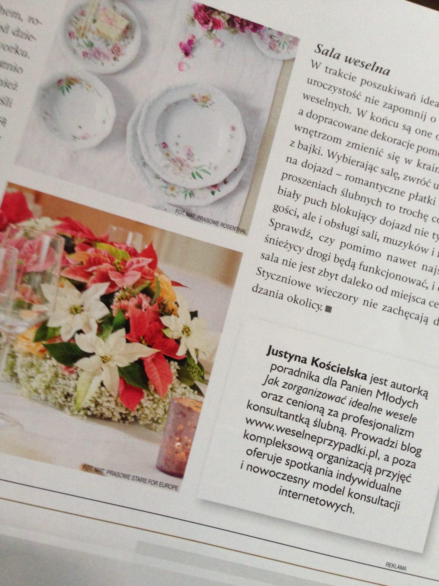 mój artykuł w magazynie wesele