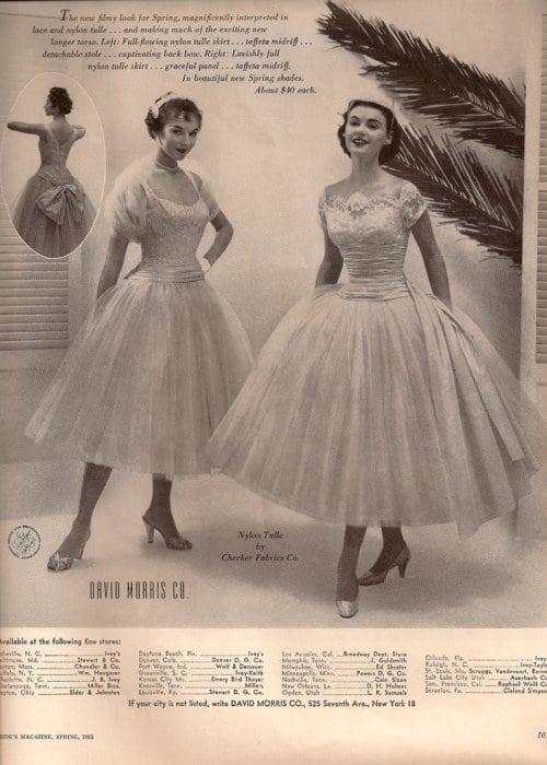 moda lat 50-tych