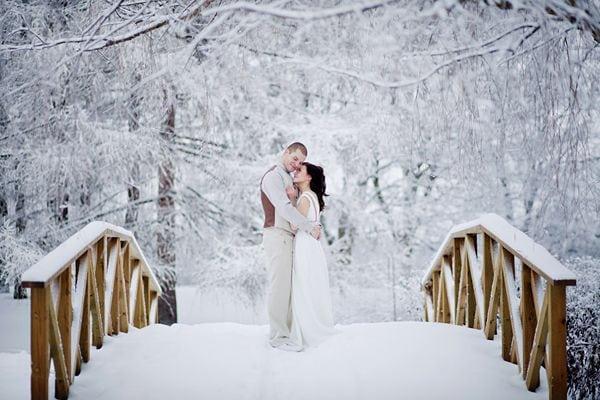 Ślub w zimie