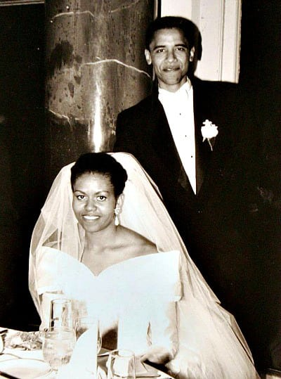 ślub Obamy