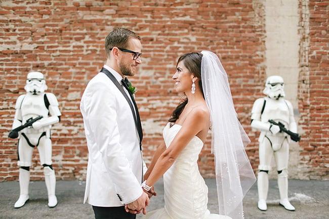 gwiezdne wojny ślub