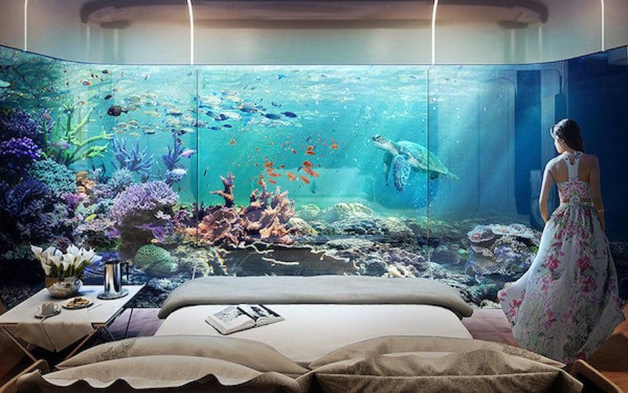 noc poślubna pod wodą