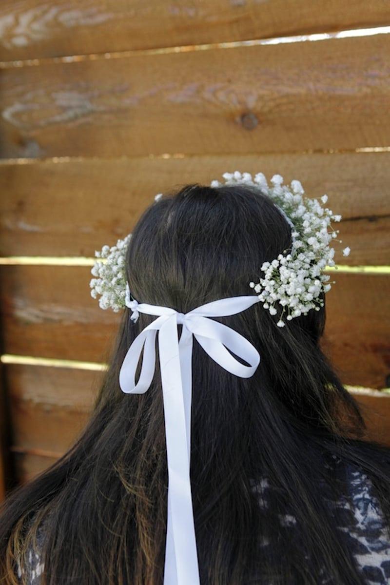 DIY wianek ślubny
