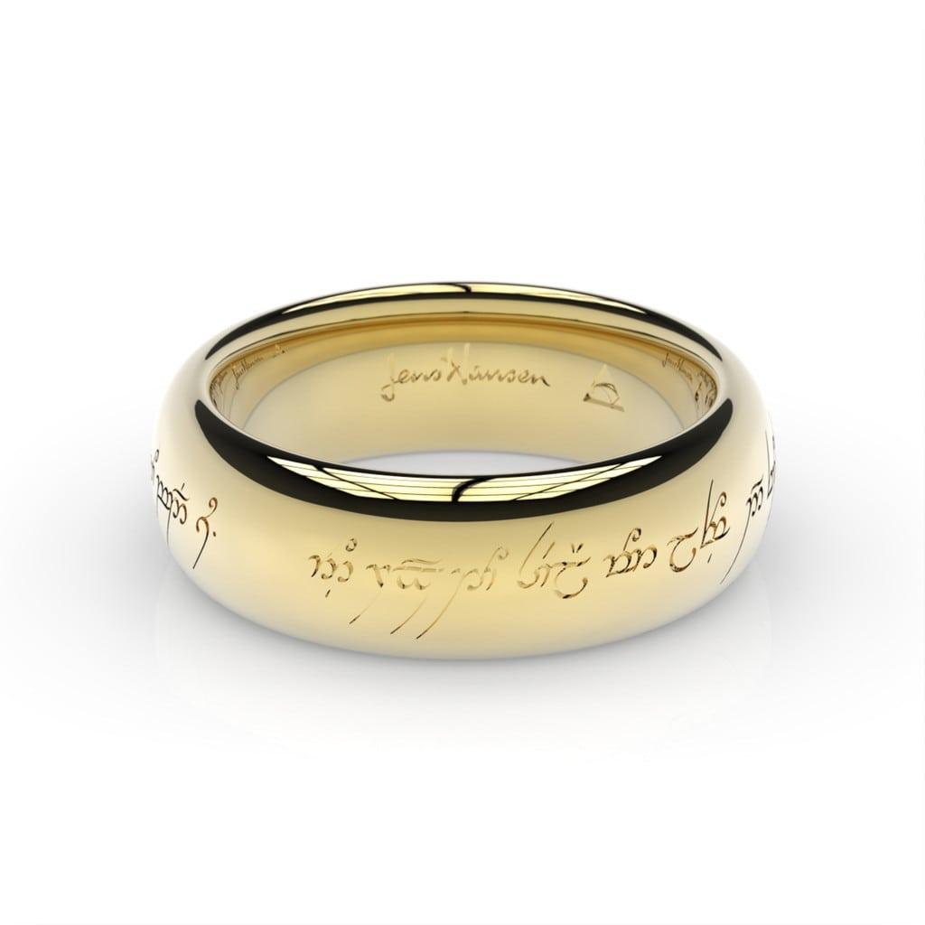 pierścionek zaręczynowy władca pierścieni