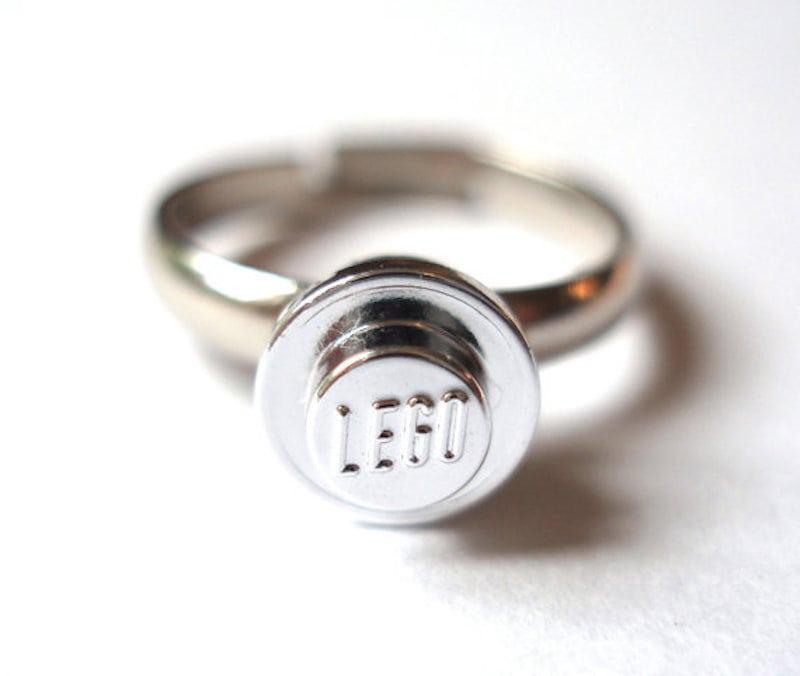 lego pierścionek zaręczynowy