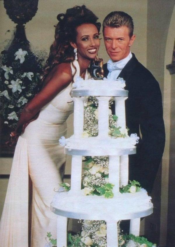 david bowie ślub