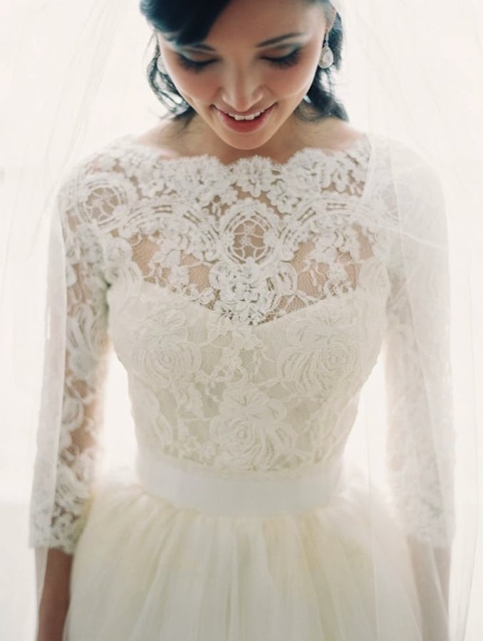 lace-sleeve-wedding-dress-Bridal-Musings-17