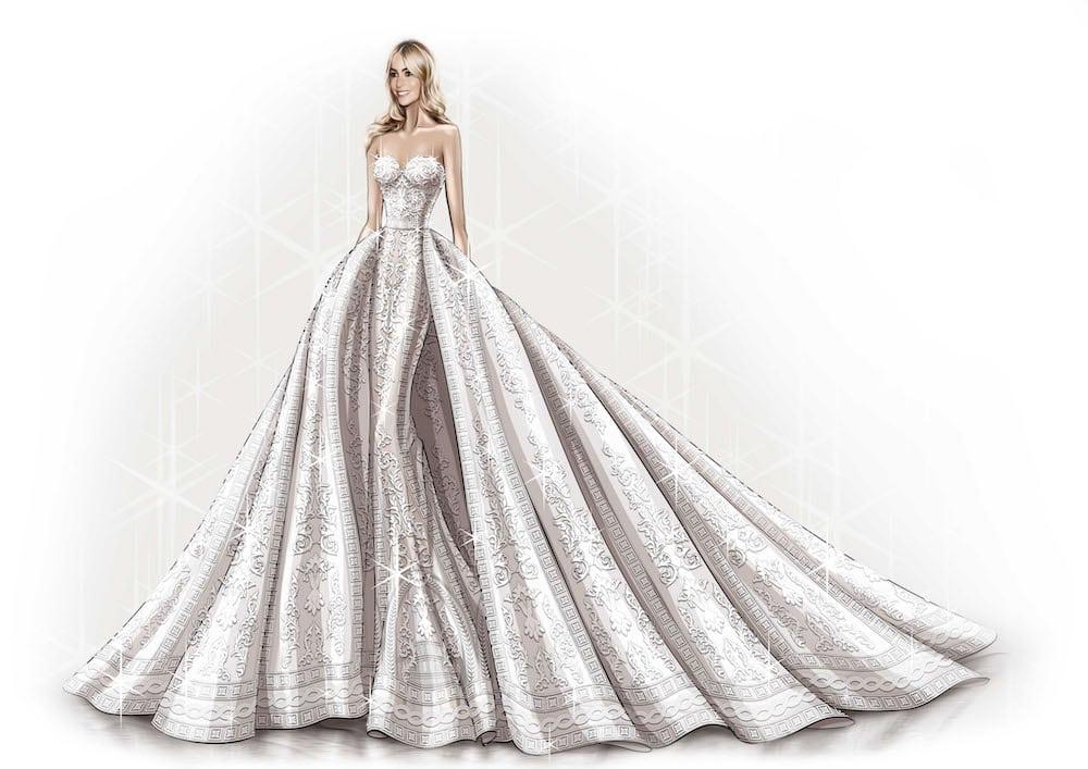 dwie suknie ślubne