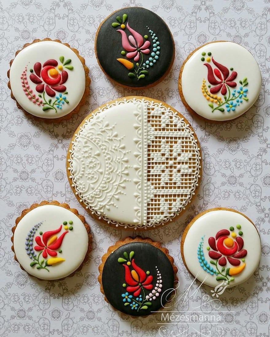ciastka ludowe wzory ślub