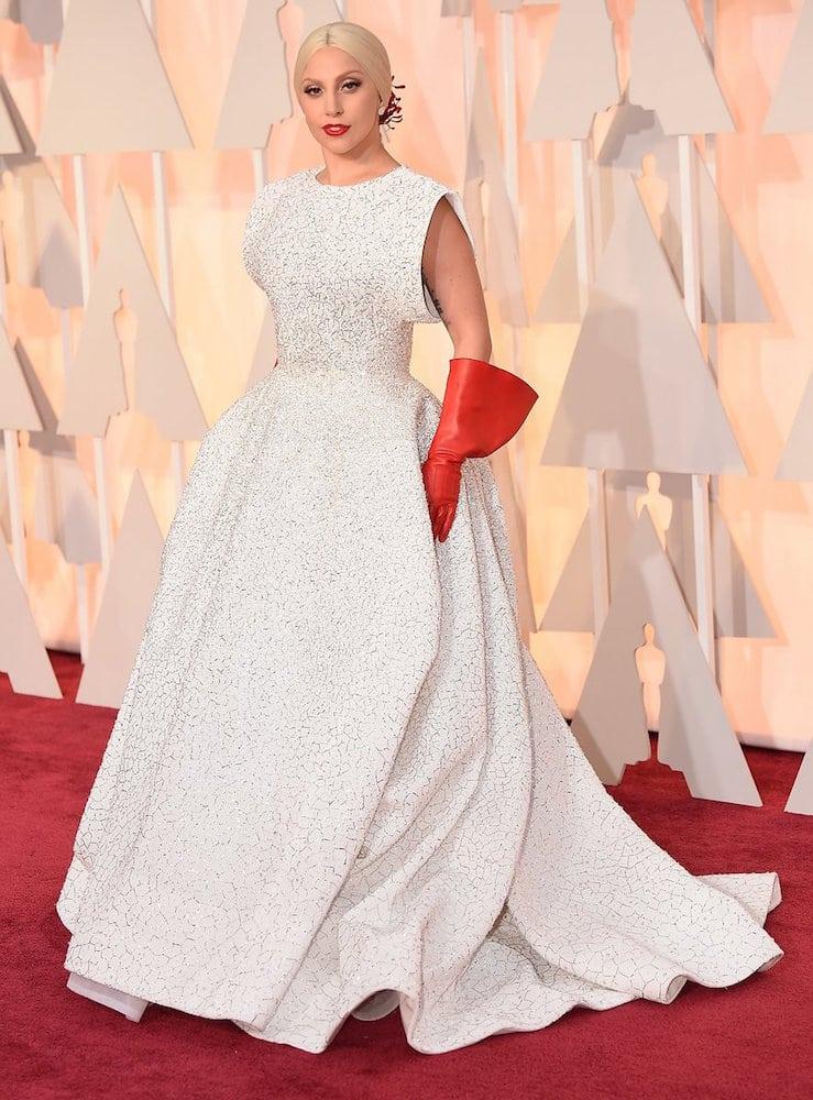 białe suknie Oskary 2016