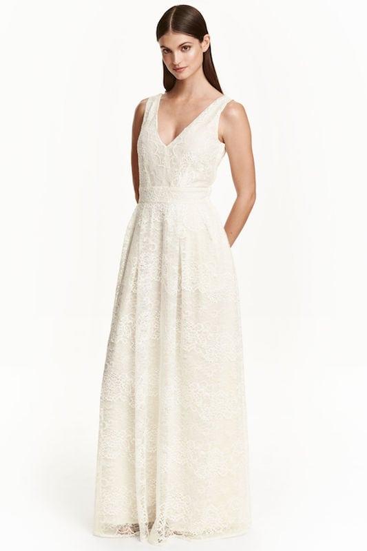 sukienka ślubna z sieciówki