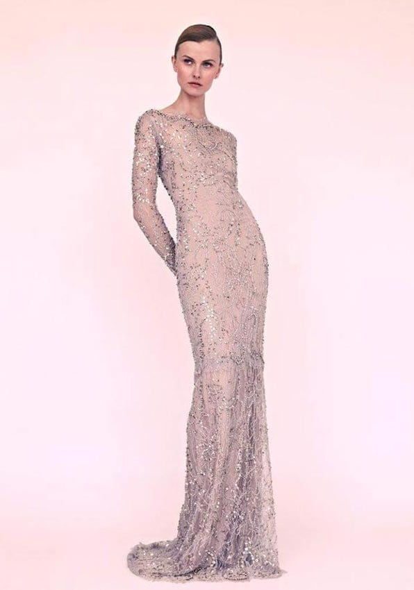 Beaded-Gorgeous-Chic-Wedding-Dress-Picture-in-Modern-Look-from-Marchesa