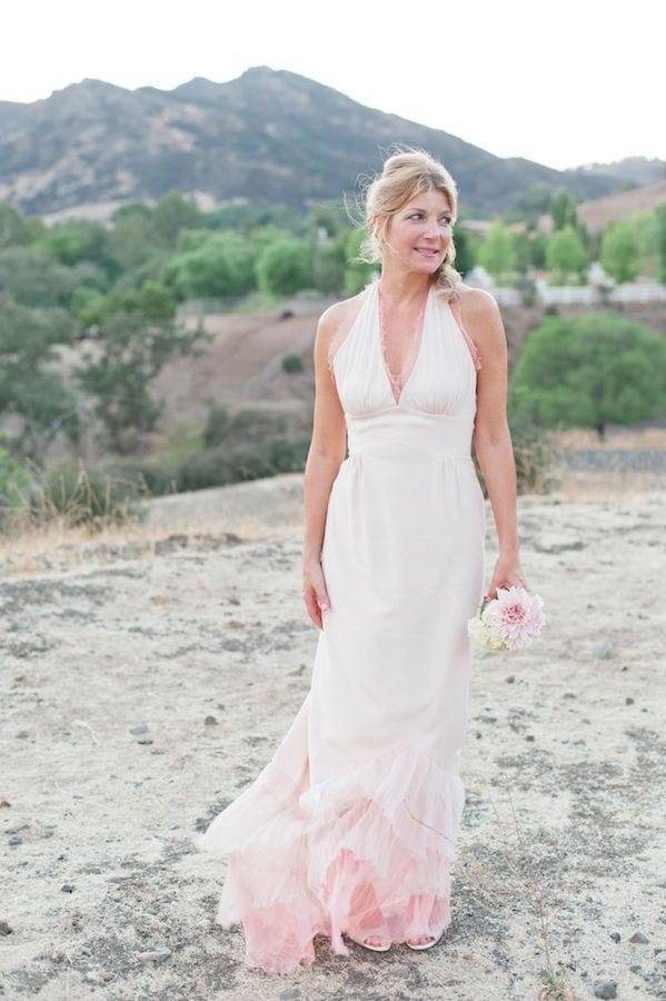 pink-ombre-mermaid-wedding-dress