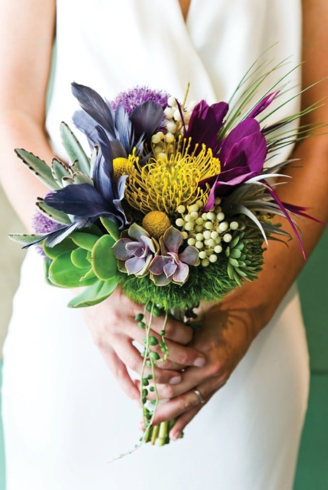 Feather-Wedding-Bouquets-5