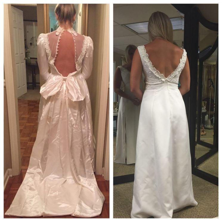 do ślubu w sukni mamy