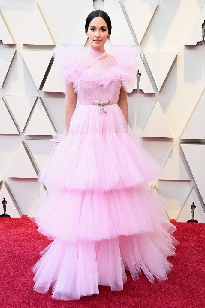 Moda Oskarowa Różowe Suknie ślubne 2019 Weselne